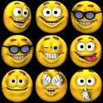 Big smileys black